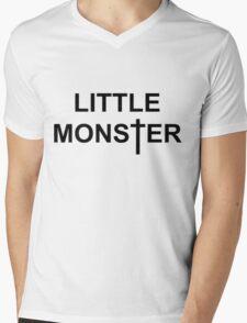Little Monster Mens V-Neck T-Shirt