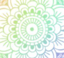 RAINBOW HENNA DESIGN 1 Sticker