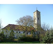 The Franciscan church in Bač Photographic Print