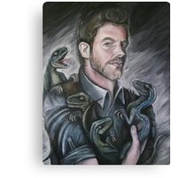 Chris Pratt- Jurassic World Canvas Print