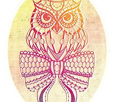 Colourful owl by bexchalloner