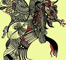 The elephant lion by Phasmida