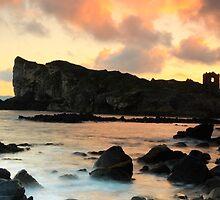 Kinbane Head, Ireland. by Fred Taylor