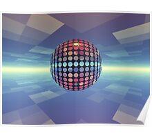 Mirror Ball Poster