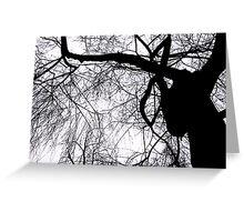 Schattenbaum Greeting Card