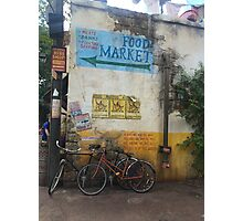 Food Market Photographic Print