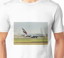 Emirates Airbus A380 A6-EDI Unisex T-Shirt