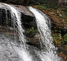 Silver Run Falls by leftwinger7
