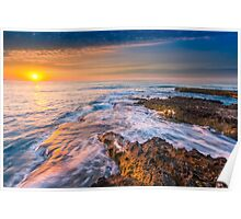 Sunrise from Isla de Banyets Poster