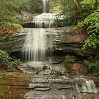 Upper Desoto Falls in Georgia by leftwinger7