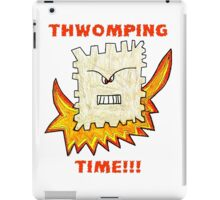 Thwomping Time-aka The Angry Triscuit iPad Case/Skin
