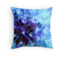 Dandy blue Throw Pillow