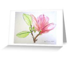 Tulip Tree Blossom Greeting Card