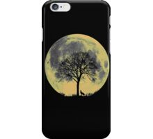 moon wolf iPhone Case/Skin