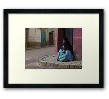 The Popular  Corner Framed Print