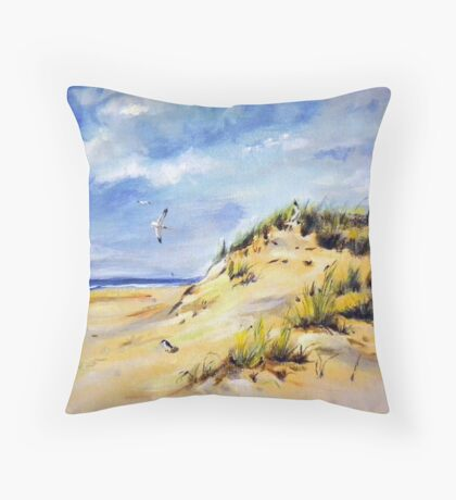 Seascape1 Throw Pillow