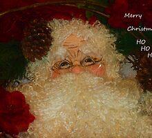 Merry Christmas Ho Ho Ho by Deborah  Benoit