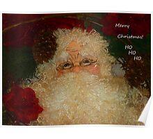 Merry Christmas Ho Ho Ho Poster