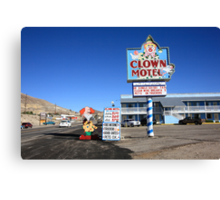 Tonopah, Nevada - Clown Motel Canvas Print
