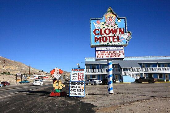 Tonopah, Nevada - Clown Motel by Frank Romeo