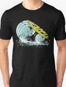 surfboard on waves T-Shirt