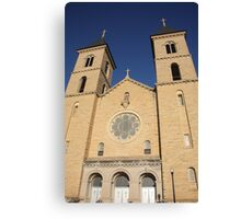 Victoria, Kansas - Cathedral of the Plains Canvas Print