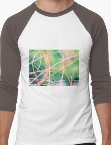 Blowing in the wind - abstract 5 Men's Baseball ¾ T-Shirt