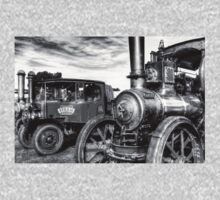 Steam Lorry And Traction Engine One Piece - Long Sleeve