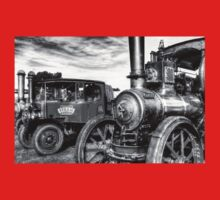 Steam Lorry And Traction Engine Kids Tee