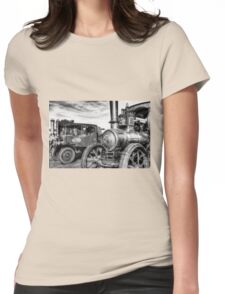 Steam Lorry And Traction Engine Womens Fitted T-Shirt