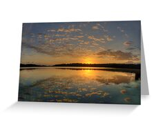 Pink Lace - Narrabeen Lakes, Sydney - The HDR Experience Greeting Card