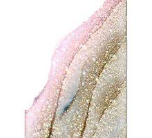 PINK GLITTER GOLD DESIGN by daniellacurcio