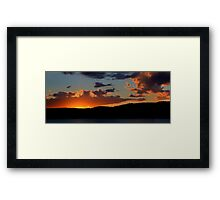 Last Light - Palm Beach, Sydney Australia -The HDR Experience Framed Print