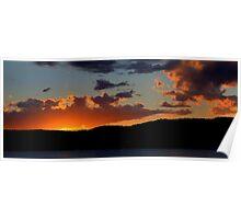 Last Light - Palm Beach, Sydney Australia -The HDR Experience Poster