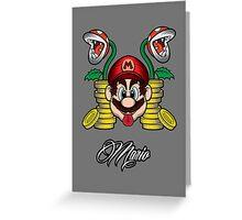 High Life Mario Greeting Card
