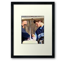 Tough Outing Framed Print
