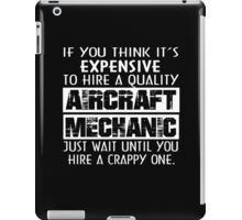 Aircraft Mechanic iPad Case/Skin