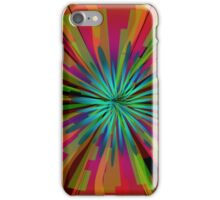Colorful Psychedelic Pattern iPhone Case/Skin