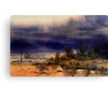 Coming Storm, Barcaldine, Queensland Canvas Print