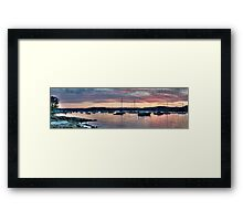Safe Harbour -Paradise Beach, Sydney - The HDR Experience Framed Print