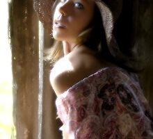 In The Barn With Carla by Clayton Bruster