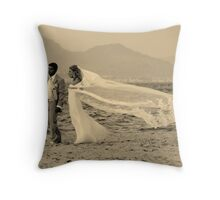 The Greek and The Goddess Throw Pillow