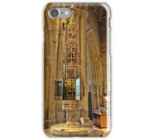 ST Wulframs Church Font Grantham,England iPhone Case/Skin
