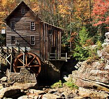 Glade Creek Grist Mill by Ann  Van Breemen