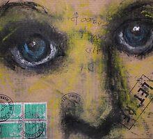 """Face, Bernard Lacoque-48   """"La lettre"""" by ArtLacoque"""