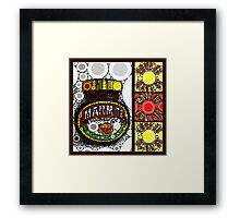 marmite ... love it ... hate it ... Framed Print