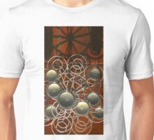 Round candles on tile Unisex T-Shirt