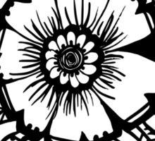 Mandala_Black Sticker