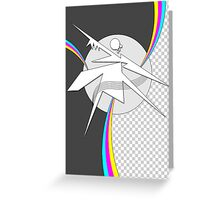 CMYK RAW Poster Greeting Card