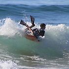 Bodyboarder - Culburra Beach by Noel Elliot